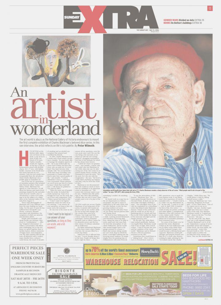 The Age - An Artist in Wonderland