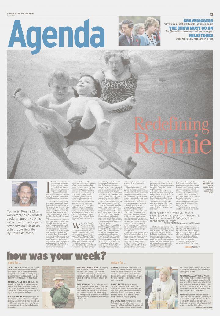 The Age - Redefining Rennie