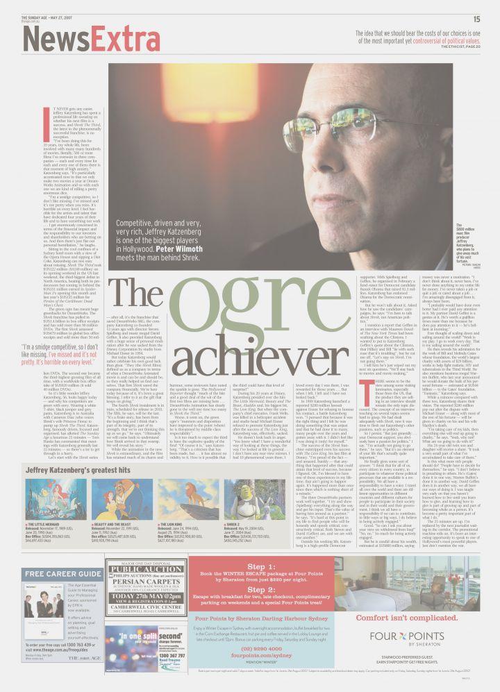 The Age - The Ogre Achiever